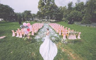 瑾一专注于户外婚礼,追求高性价比婚礼