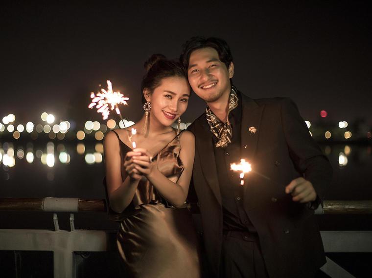 缪斯影像--郑州唯美夜景婚纱照