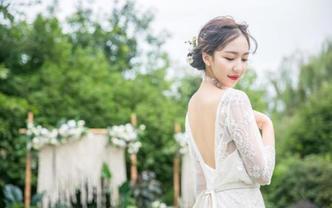 【茜茜造型】婚礼当天——单个妆容+造型