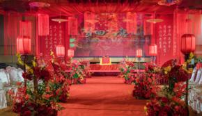 《梦回大唐》婚礼-南宁饭店泰和厅