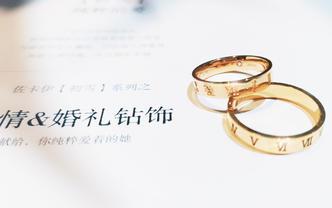 <时光系列>异域情调 罗马刻度结婚对 限时送项链