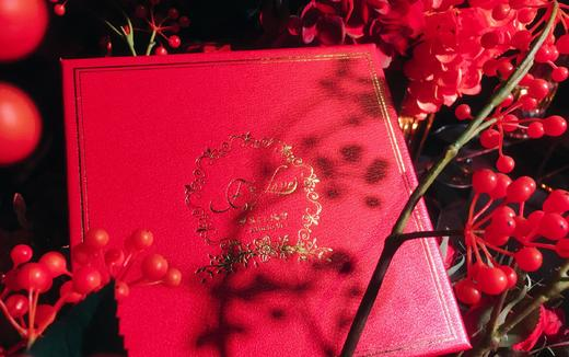 【之昂知礼】红色鎏金高定款烫金喜糖伴手礼。