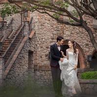 梦想婚礼 七城一地优惠套餐 赠送韩式室内场景一套