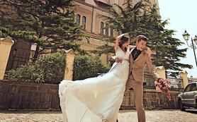 青岛旅游婚纱拍摄 拍遍青岛-教堂系列