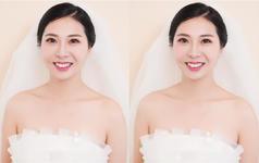 唯美新娘造型 韩式新娘造型 自然清透妆感