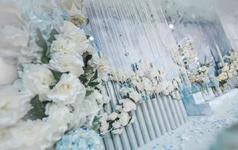 「素雅」唯美清新蓝色梦幻花园