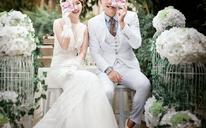 【金夫人】简约韩式婚纱照,送5000元婚嫁大礼包
