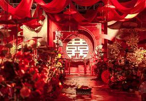红金色 中式婚礼 大气奢华 新中式婚礼