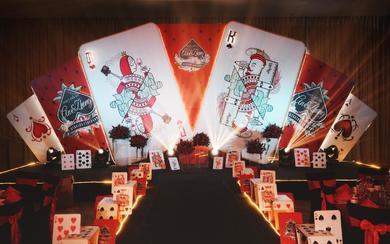 CASINO K&Q | 扑克牌主题婚礼