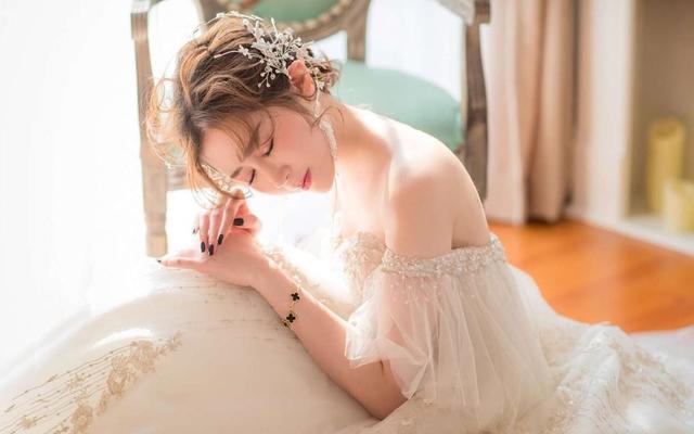 #琳弗洛拉#银丝飞袖仪式纱