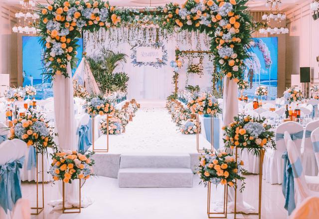 『芒果』花 嫁——公园158国际婚礼基地