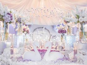 【花漾婚礼】纯色DIY 唯美婚礼布置