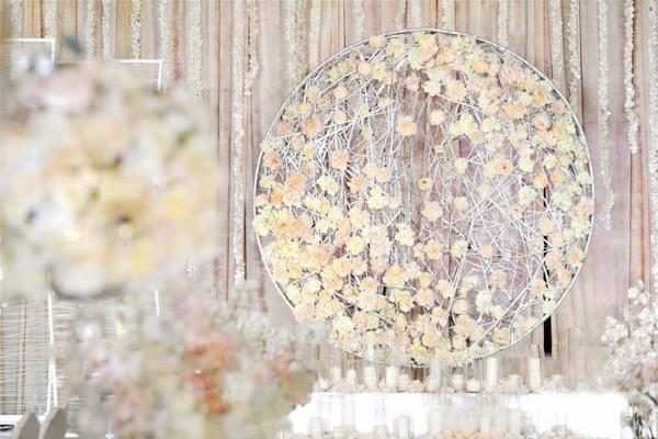 【9.10小天鹅戴斯】室内婚礼——花之恋