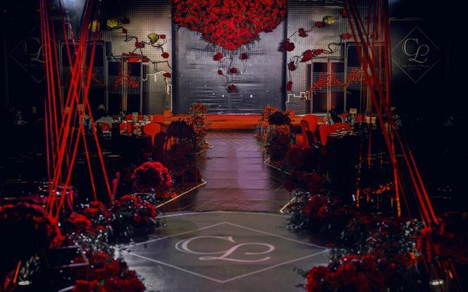 超酷红黑撞色个性风格婚礼赠送 司仪+摄影