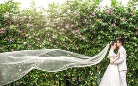 【金夫人客照】看看别人的婚纱照,你也可以这么美