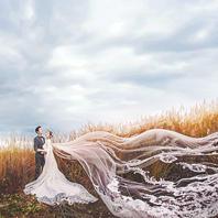 【临水而居的芦苇】唯美秋天婚纱照 不限制服装选择