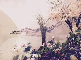中国风水墨丹青系列婚礼