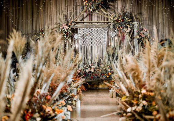 《暖芦》 芦苇主题婚礼  性价比超高