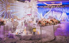 -蜜途婚礼-蓝紫色系-爱的氤氲