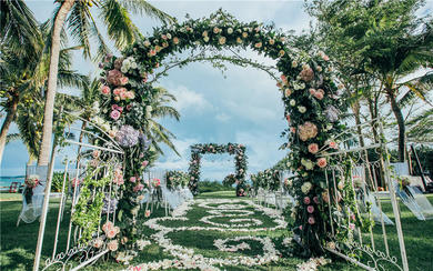 【糖果海外婚礼】三亚 | 漫城·花园