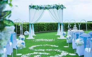 【糖果婚礼】三亚海韵空中花园婚礼