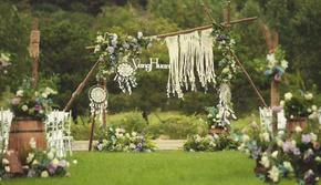 【秋之幸】白绿小清新草坪婚礼