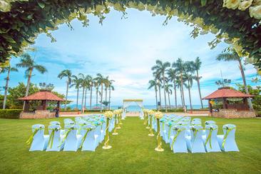 「草坪婚礼」亚龙湾万豪酒店 有你的幸福