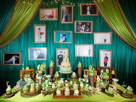 维莱诗婚礼 皇冠假日酒店《圣瓦西里的心愿》森系婚礼布置