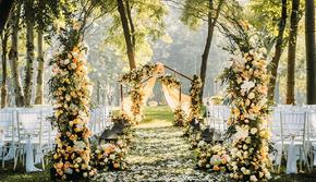 金色流年-户外草坪-清平梦高端古风婚礼策划