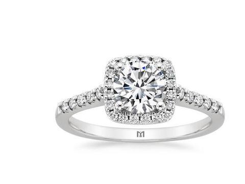 【求婚必备】40分显钻婚戒|到店赠天然珍珠项链