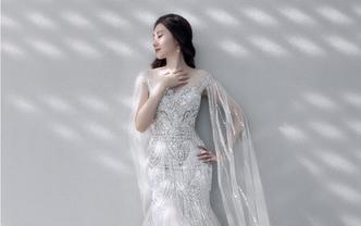 【超值套餐】资深化妆师时尚新娘妆全程跟妆+亲友妆