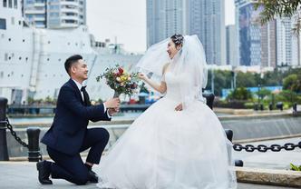 私人订制婚礼纪实单机摄影(总监档)