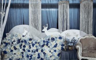 7克拉蓝色时间回忆主题婚礼
