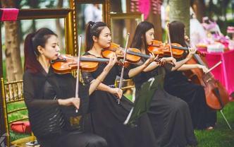 【小提琴四重奏】高雅迎宾