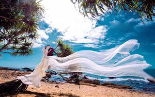 三亚海洋之星婚纱摄影