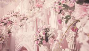 粉色系梦幻城堡