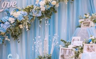 【孔雀婚礼】2019超高性价比之选  静谧蓝婚礼
