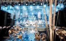 皇嘉主意-告白气球(水晶蓝色优雅大气风格)