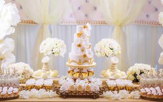 1V1婚礼甜品台设计(风格套餐C)