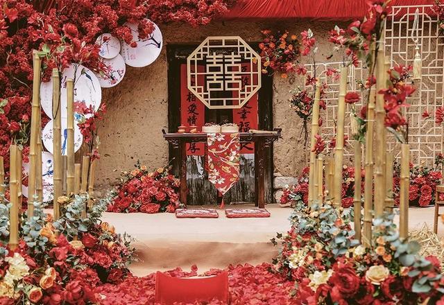 【老院儿】老家门口的中式户外婚礼