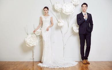 韩式简约唯美婚照