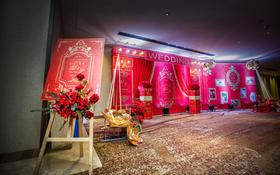 华美达酒店【D&Y】大红色婚礼