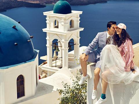 【圣托里尼】蓝白世界|驻地摄影师|网红特色景点