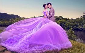 太原纽约婚纱摄影  紫韵