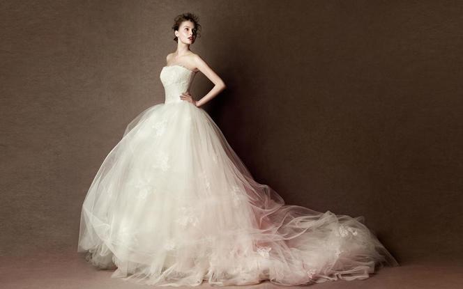 AYA梦幻唯美系列婚纱礼服八件套
