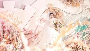 微甜   浪漫粉色系主题婚礼