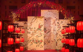 【悠时婚礼】当季特推/长辈最喜欢 新中式纯布置