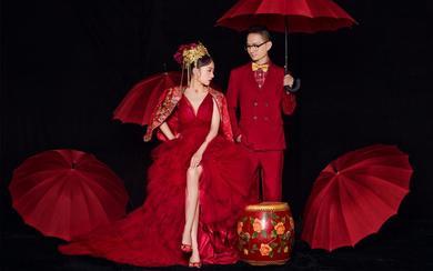 新中式高定系列婚纱照   挪娅婚纱摄影出品