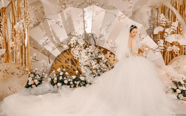 水墨风中式婚礼《大泽小燕》