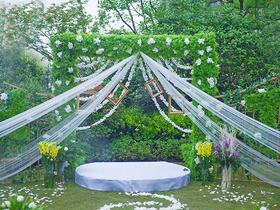陶子婚礼室外草坪